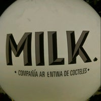 Photo taken at Milk Compañía Argentina de Cocteles by leon on 8/4/2012