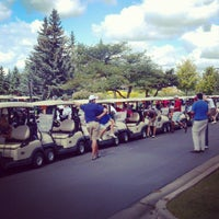 Photo taken at St. John's Golf Course by Michael J. V. on 9/8/2012