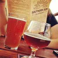 Photo taken at Southern Sun Pub & Brewery by Gary W. on 7/4/2012