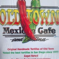 Photo taken at Old Town Mexican Cafe by Luis D. on 3/5/2012