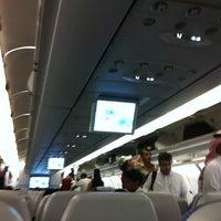 Photo taken at Lufthansa Flight LH 627 by M B. on 5/23/2012