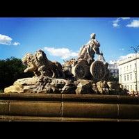 Foto tomada en Plaza de Cibeles por Iván V. el 6/30/2012