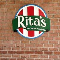 Photo taken at Rita's Italian Ice by Perri W. on 4/15/2012