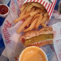 Photo taken at Portillo's Hot Dogs by Sheila R. on 2/20/2012