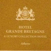 Photo taken at Hotel Grande Bretagne by Mish S. on 3/22/2012