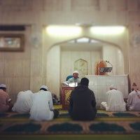 Photo taken at Masjid Al-Mujahideen by mohd efry a. on 8/31/2012