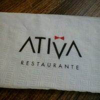 Photo taken at Ativa by Maika M. on 8/11/2012