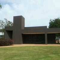 Photo taken at Elvis Presley Memorial Chapel by Eric W. on 5/1/2012