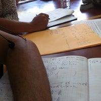 Photo taken at Faculté Des Sciences Mohamed V by Jaouad B. on 6/6/2012