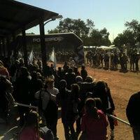 Photo taken at Liceo Militar General Espejo by Gabriela P. on 8/26/2012