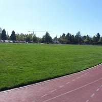 Photo taken at Campbell Community Center Track by Carter M. on 9/10/2012