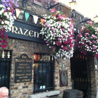 Photo taken at The Brazen Head by Lyza B. on 8/10/2012