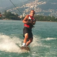 Photo taken at Wakeboard Morcote by Hak P. on 8/14/2012