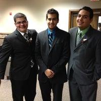 Photo taken at Kingdom Hall (Mayfield) by Daniel B. on 7/19/2012