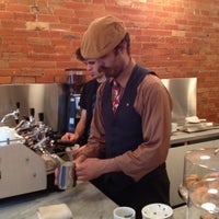 Photo taken at Boxcar Coffee Roasters by Megan B. on 9/2/2012