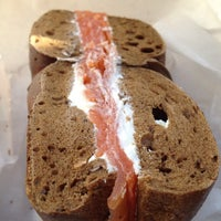 Photo taken at Tompkins Square Bagels by Gabe B. on 2/5/2012