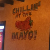 Photo taken at Taco Mayo by Jackie R. on 4/23/2012