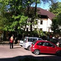 Photo taken at Посольство Латвийской Республики by Mr.CRAB on 5/9/2012