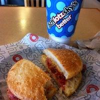 Photo taken at Schlotzsky's Bakery Cafe by Varian D. on 3/12/2012