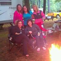 Photo taken at NASCAR RV Resorts at Adirondack Gateway by Rebecca J. on 6/8/2012