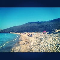 Photo taken at Panormos Beach by Giuseppe K. on 9/6/2012