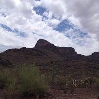 Photo taken at Picacho Peak by Marcie P. on 7/9/2012