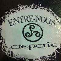 Photo taken at Entre-Nous Creperie by Chris C. on 3/20/2012