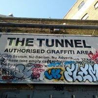 Photo taken at Leake Street Graffiti Tunnel by c0uP on 8/18/2012