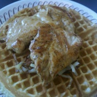 Photo taken at Waffle House by Bren B. on 7/6/2012
