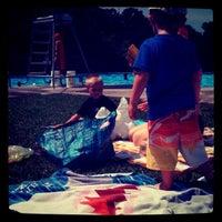 Photo taken at Inskip Pool by Ben A. on 6/23/2012