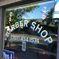Photo taken at Rubes Barber Shop by Michael D. on 5/12/2012