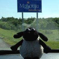 Photo taken at Missouri/Iowa State Line by Leslie B. on 6/12/2012