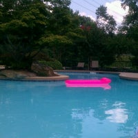 Photo taken at The P@V Pool by Chanae D. on 6/22/2012