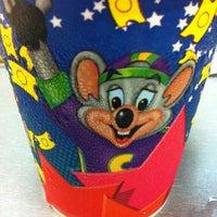 Photo taken at Chuck E. Cheese's by Lisa I. on 4/5/2012