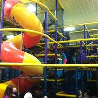 Photo taken at Krazy Kids by Emily C. on 3/10/2012