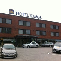 Photo taken at Hotel Haaga Central Park by Evgeniy K. on 6/11/2012