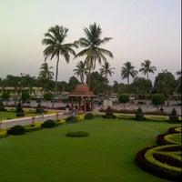Photo taken at Swaminaryan Mandir by Swati S. on 4/6/2012