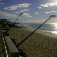 Photo taken at Spiaggia delle Fornaci by Fratelli A. on 9/13/2012