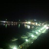 Photo taken at Pantheon City Hotel Gythio by Leonidas T. on 8/9/2012