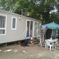 Photo taken at Camping la Sirene by Nathalie v. on 8/28/2012