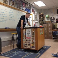 Photo taken at RHS Mr. Abbs English IV by Zachary P. on 4/11/2012