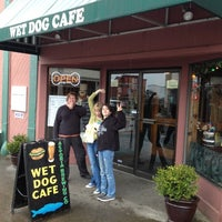 Photo taken at Wet Dog Cafe by Steve G. on 4/17/2012
