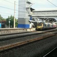 Photo taken at KTM Line - Rawang Station (KA10) by Fitrizal A. on 2/16/2012