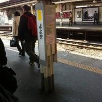 Foto tirada no(a) JR Yoyogi Station por takashi t. em 3/15/2012