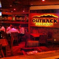 Photo taken at Outback Steakhouse by João T. on 8/1/2012