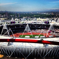 Photo taken at London Stadium by Mehrdad A. on 9/4/2012