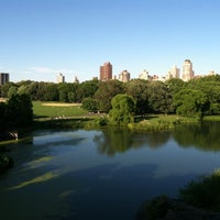 Photo taken at Central Park – Turtle Pond by Jeff S. on 6/27/2012