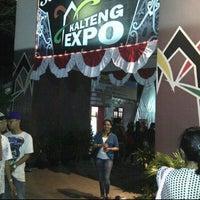 Photo taken at Lokasi Pameran EXPO Kalteng by Lusia N. on 5/24/2012