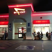 Photo taken at In-N-Out Burger by Kate M. on 8/31/2012