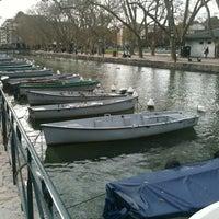 Photo taken at Quai Napoléon III by Stéphanois-Forever on 4/9/2012